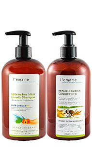 L'emarie Intensive Hair Growth Shampoo and Conditioner DUO