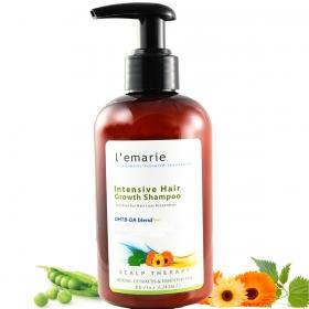 L'emarie Hair Growth Shampoo For Hair Loss + Anti Dandruff - Thicker Fuller Longer Healthier Hair With Biotin, Caffeine, Apple Cider Vinegar For Men and Women 8.6 Ounces